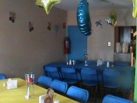 Tables and balloons