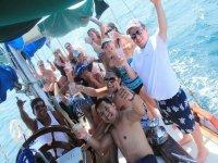 Good atmosphere on board