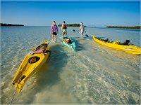 Arrastrando el kayak