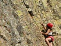 Climbing in Bernal