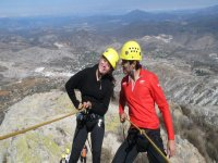 Rappelling as a couple