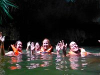 Experience in cenotes