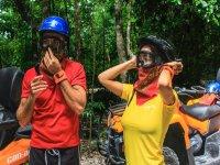 Helmets, bandanas, goggles