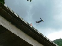 Jump from a bridge
