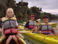 Rowing in Chiapas