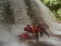 A rest in rafting