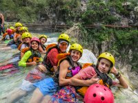 Our team enjoying la Huasteca