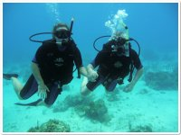 Diving as a couple