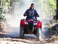 ATV in the mountains