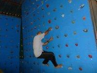 Climbing in Monolito