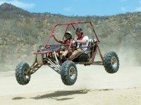 Having fun in a buggy
