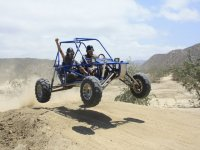Jumping with a buggy