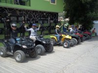 Raising the arms on the ATVs