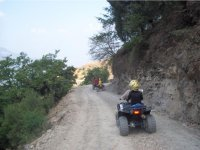 ATV pilots on the trail