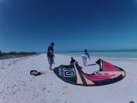 Kites en la playa