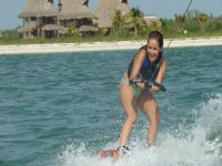 Girls and wakeboard