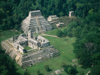 Palenque archaeological site.