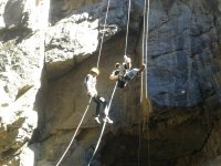 rappel with instructors