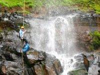 rappel cascadas
