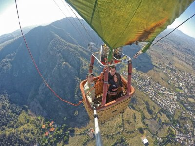 Romantic flight over the Ruta del Tequila