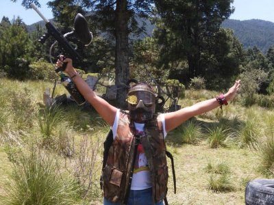 Paintball games with 100 paintballs in La Marquesa