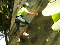 Climbing, rappelling and canyoning at Camp San GAbriel
