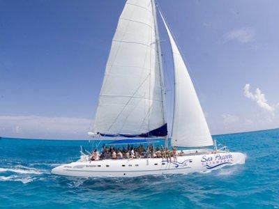 Boat Cancun Snorkel