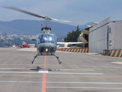 Vorjet Vuelo en Helicóptero