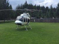Aterrizaje en helicóptero