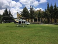 Experience of flying by helicopter