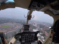 View of the CDMX by helicopter