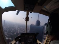 Fly over Mexico by helicopter