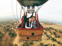 Balloon ride, a unique experience