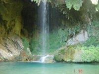Routes between waterfalls