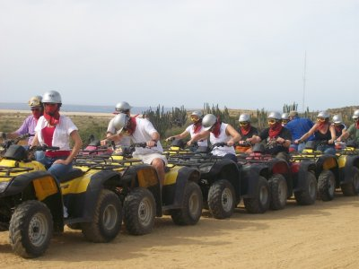 Double quads guided tour, Los Cabos