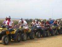 Tour cuatrimoto biplaza en Playas de Migriño