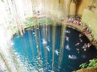 Swim in the cenote