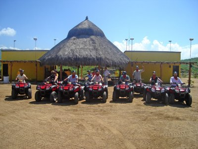 ATV tour for 2 people in Cascada Candelaria
