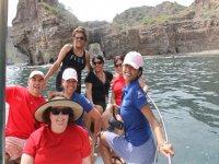 Con la camara lista en frente de nustras 5 Islas de Loreto