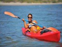Kayakeando en loreto