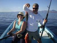 Pescando en Loreto