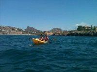 Kayaking ride