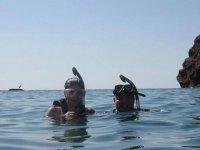 Prueba a snorkelear