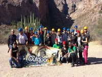 Grupo aventura outdoor
