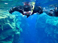 Enjoying the underwater paradise