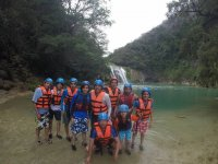 groups of canyoning