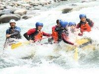 Aventura en Rafting