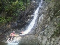 Cascada en la selva