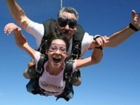Skydiving in SMA