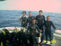 Dive excursion